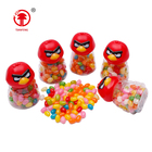 Top quality confectionery halal jelly brid shaped jelly beans soft candy fruit flavored gummy sweet