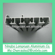 Various shaped 6063 aluminium profile, accessories, aluminium extrusion rail profile