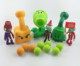 Plants vs Zombies Peashooter PVC Action Figure Model Toy Gifts Toys For Children