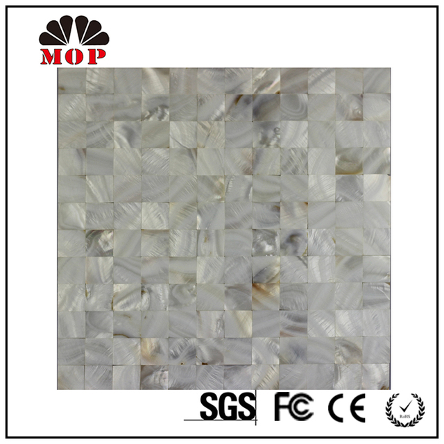 China wholesaler - 25*25mm kitchen backsplash MOP shell mosaic tile