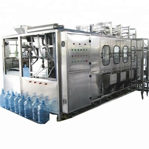 Automatic 5 gallon plastic barrel water filling machine line price