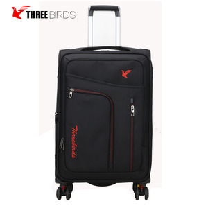 2018 carry on luggage 3 pcs in 1 set business suitcase luggage with 4 wheels