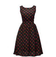 Professional Tutu Dress Red Girls Polka Dot Party Dresses