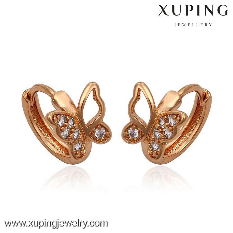 2016 Design Gold Earrings Tops,Round Earring Designs,Rose Gold ...