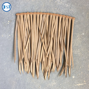 High Quality Plastic Artificial Roof Thatch