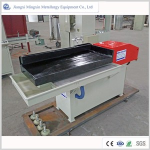 gold, coltan, wolfram, tin ore concentrating Laboratory shaking table