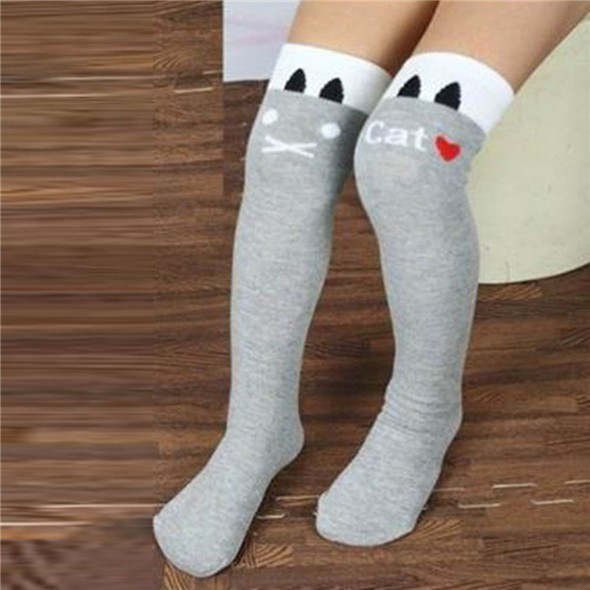 Toddlers Kids Girls Knee High Socks School Cotton Tights Striped Stockings for Girls 1 8Y