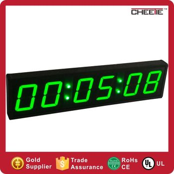 Large Led Wall Countdown Timer 4 Inch Led Wall Mounted