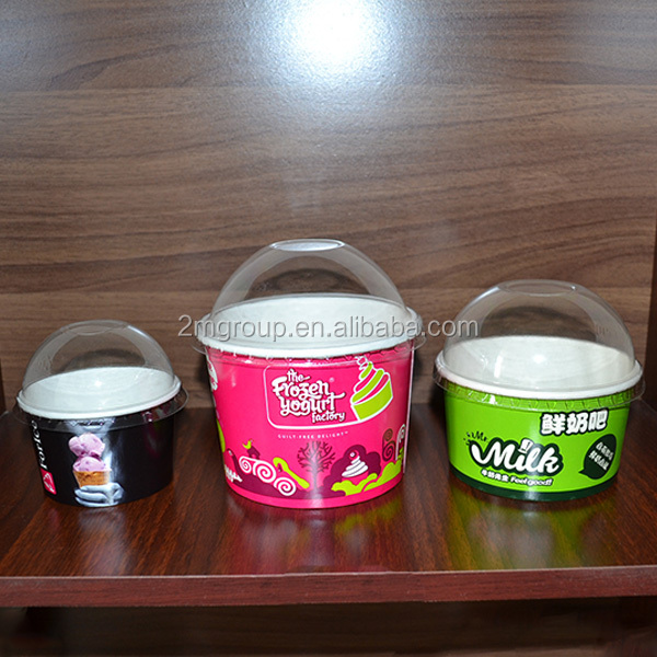 2017 wholesale factory price china manufacture custom paper ice cream bowl