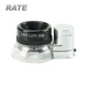 Aircraft Grade Aluminum Premium Glass Magnifying Eye Loop Stand LED Illuminated 20X Jewelers Loupe Magnifier