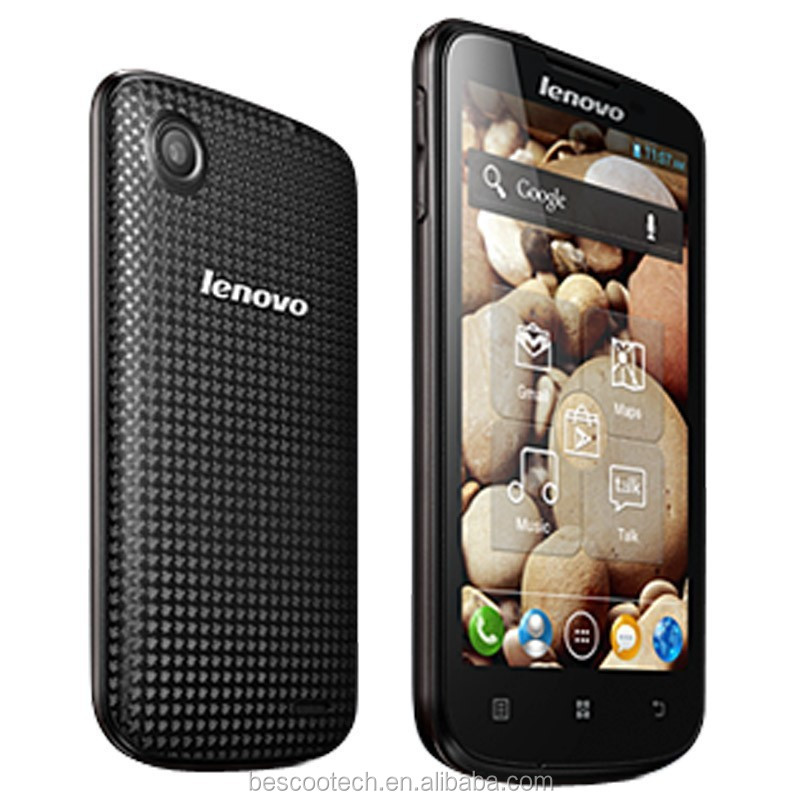 New Lenovo A800 MTK6577 Dual Core Android 4.0 4. Smart phone 4.5inch IPS Screen 4GB ROM GPS Dual Sim 3G Cell phone