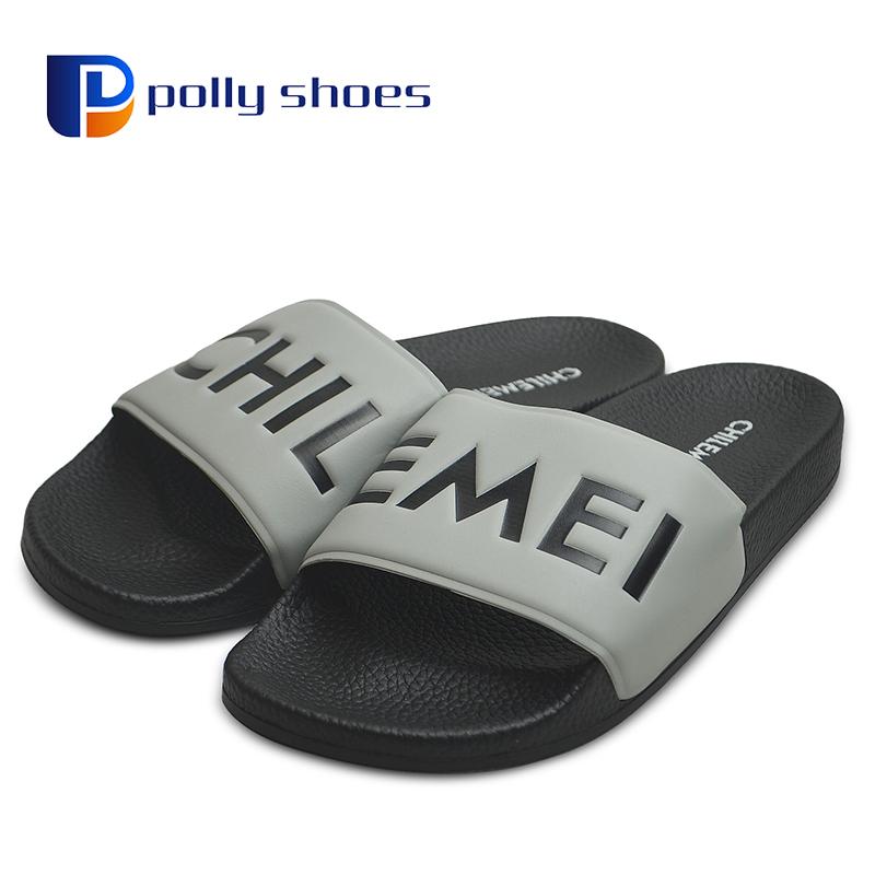 321b7998ccf3 PU Slider Personalized Slippers for Men Custom Made Sport Sandals Sliders  Slippers