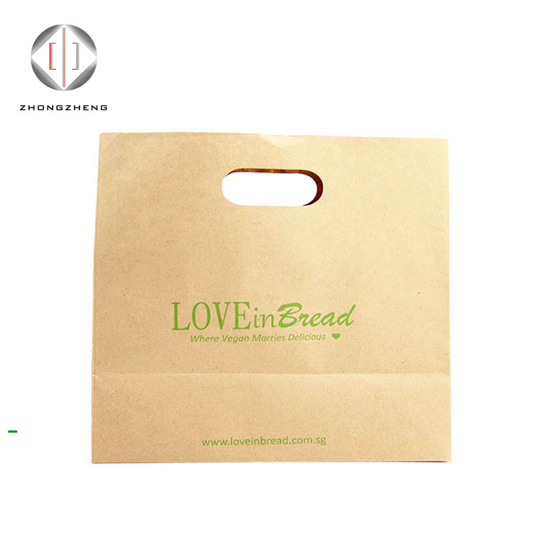 2017 disposable carrier bags restaurant, paper lunch bag, paper bag for delivery food