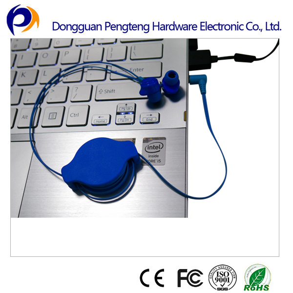 New style earphones for earphone cable roller