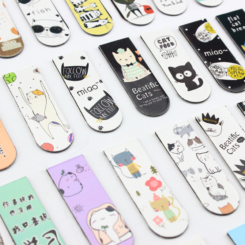 Factory wholesale custom bookmarks,cute fashion bookmarks magnet for books