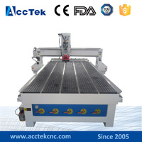 Full automatic cnc router woodworking ATC 1325 1530 auto tool changer for door making