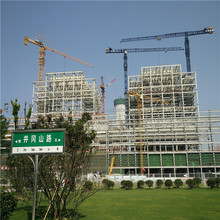 Prefabricated two story construction used cheap steel structure warehouse
