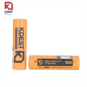 Alibaba Best Sellers For KDEST K6J 3100mah 50A 18650 Full Power Vape Battery