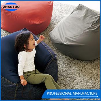 Japanese Style Modern Furniture Big Soft Bean Bag Chair Sofa For Teens