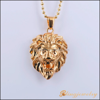 2015 new product lion head pendant new gold pendant design for men 2015 new product lion head pendant new gold pendant design for men aloadofball Image collections