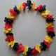 New products excellent quality Polyester Fabric Flower Garland Hawaii Lei in many style