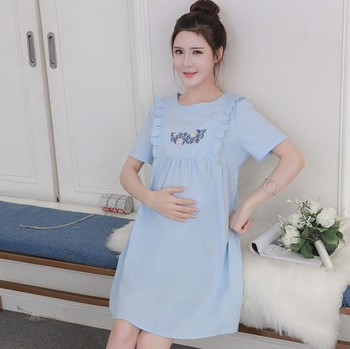 116c958a206 X84558B wholesale korean style maternity nursing dresses cheap  breastfeeding clothes