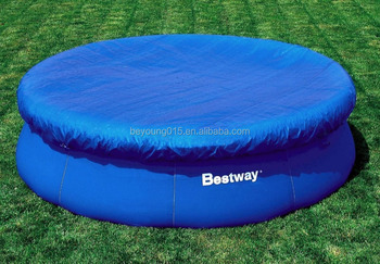 Fast Set Round 12ft Swimming Pool Cover Inflatable Swimming Pool ...