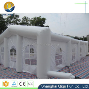 big tent with top inflatable computer shape tent