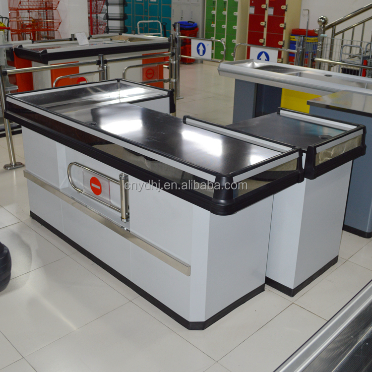 Supermarket Cash Register Counter Table With Low Price Yd