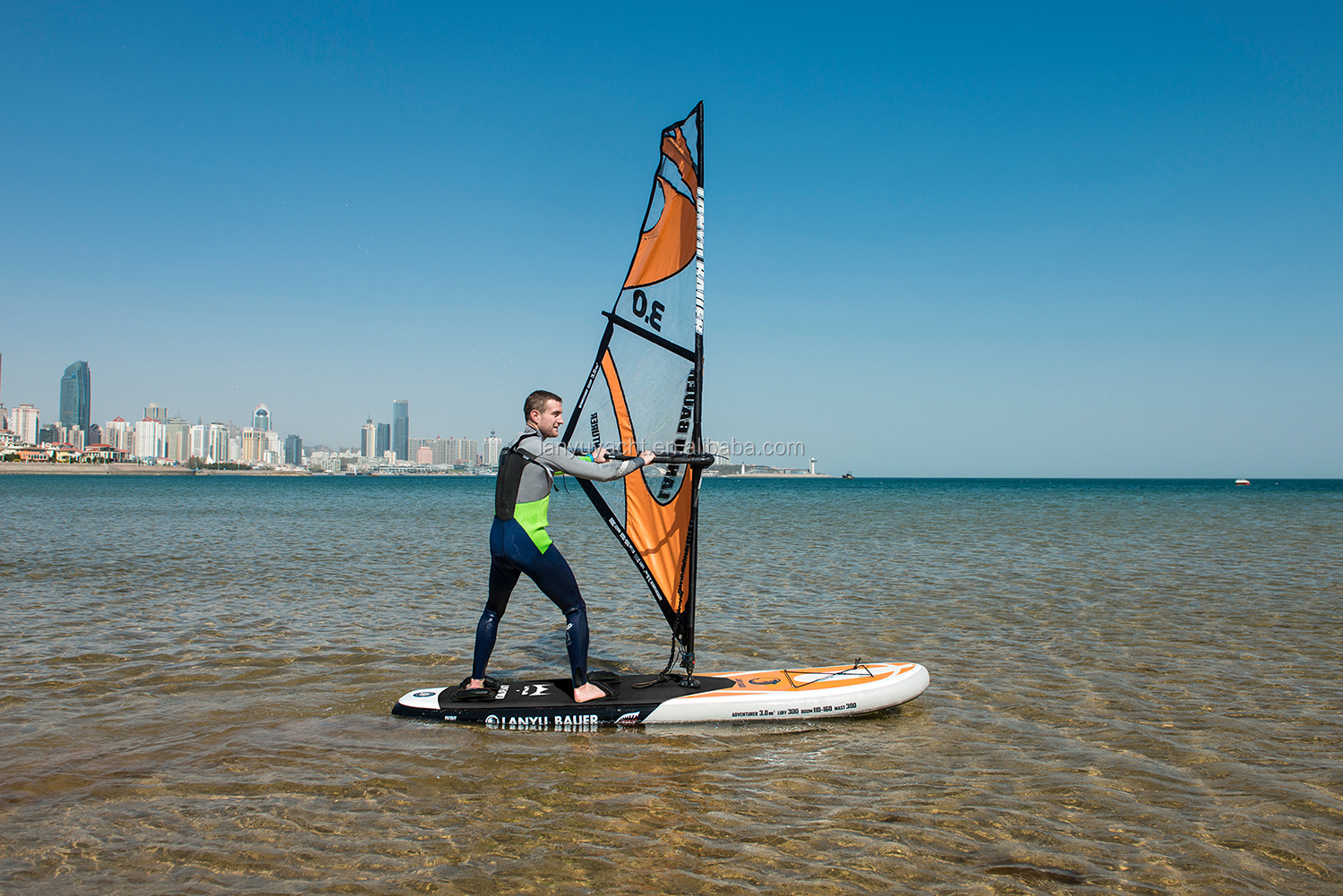 Sup Windsurf Board Inflatable Paddle Board View Sup Windsurf Board Inflatable Paddle Board Lanyu Bauer Product Details From Qingdao Lanyu Yacht Co Ltd On Alibaba Com