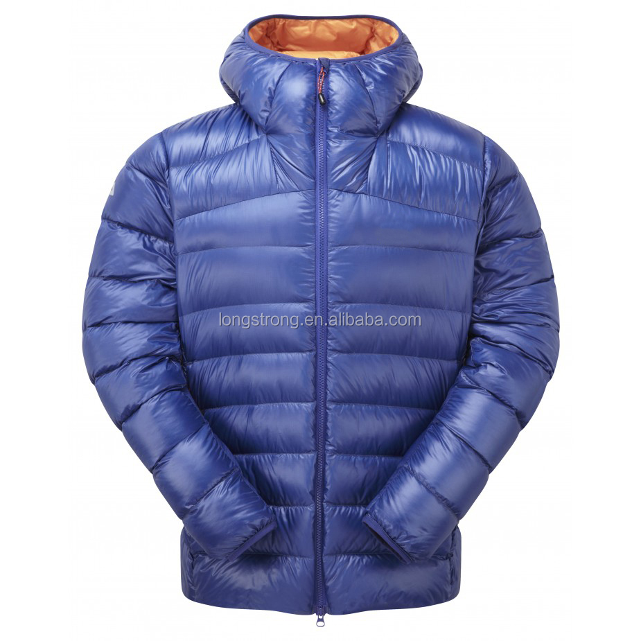 LS-006 Longstrong full zipper men's down jacket