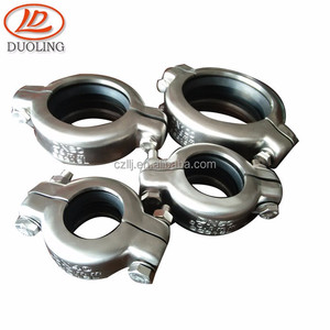 Flexible coupling lowest price coupl different material pipe fitting