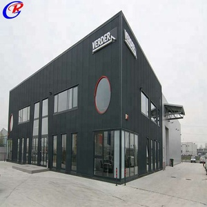 Quick Install Prefab Building Two Story Building Steel Structure Warehouse