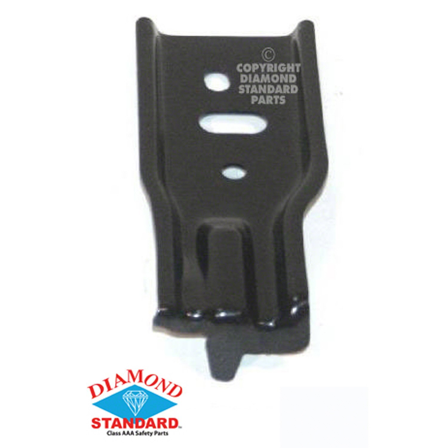 Crash Parts Plus Front Right Bumper Bracket for 03-08 Toyota Corolla TO1067139