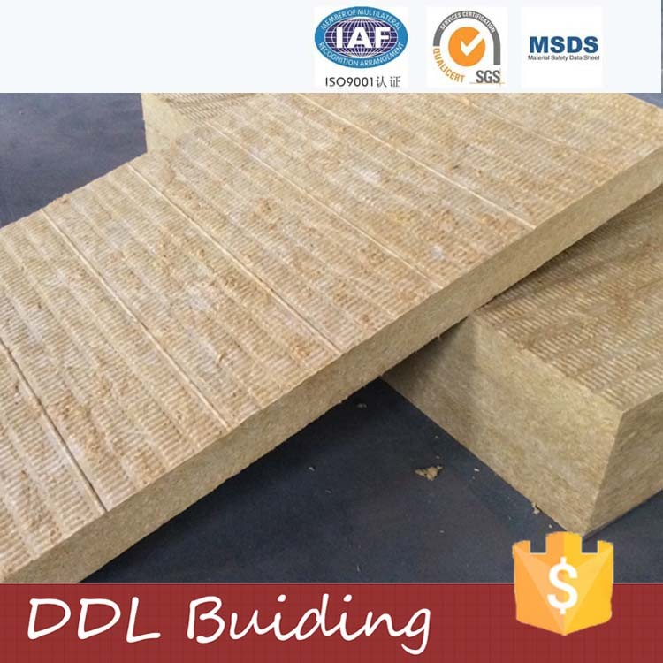 Low price heat insulation mineral acoustic rockwool panel for Rockwool insulation properties