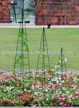 Tomato Cage Metal Garden Obelisk Wrought Iron Garden Obelisk For Gardening  BS090001