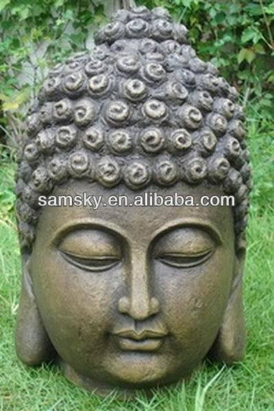 Garden Outdoor Decoration Buddha Head Buddha Statue