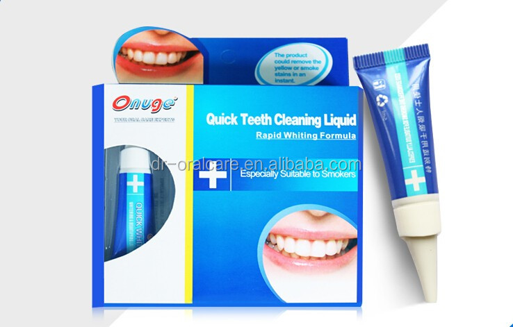 Dente Clareamento Dental Branqueador Para Fumante Liquido Oem Uso