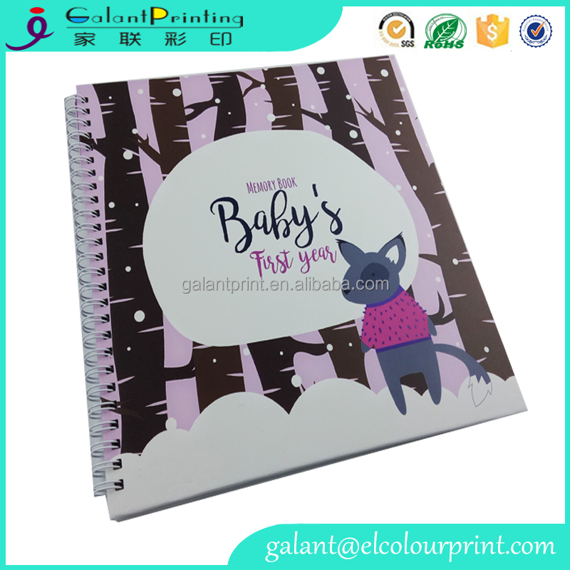 Galant professional Cardboard first five years Baby Memory Book