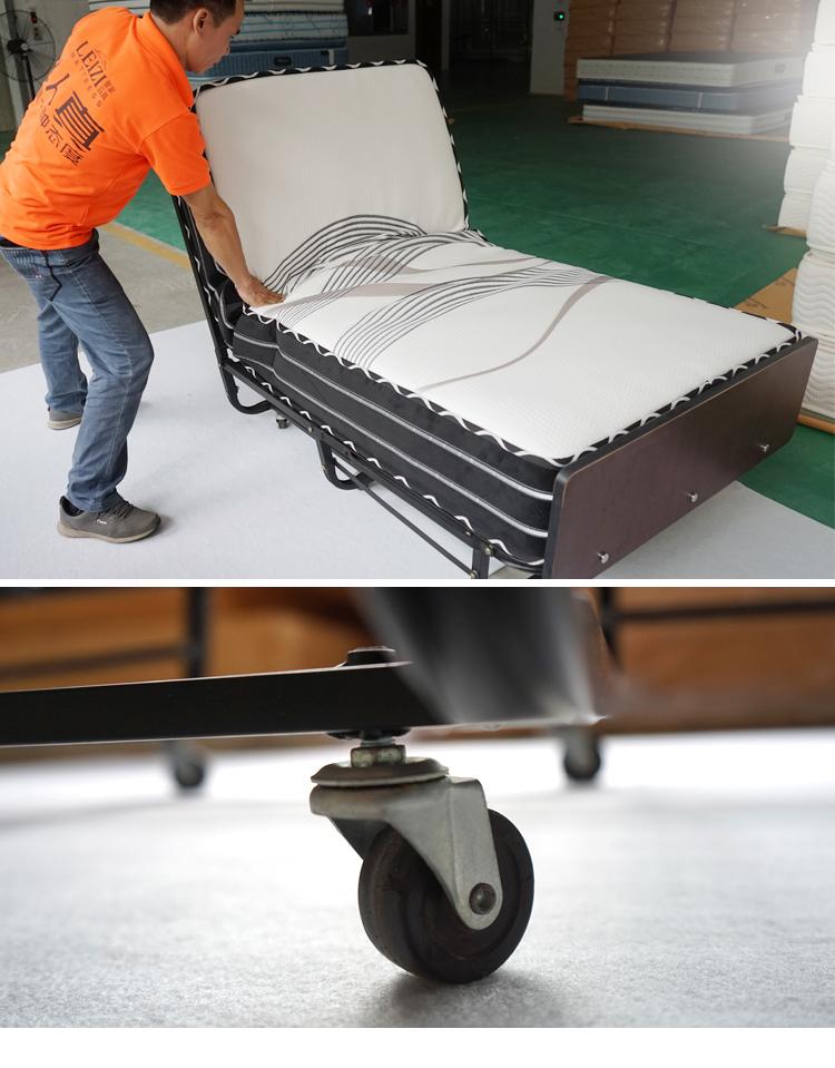 2016 Portátil Plegable de Acero Marco de la Cama Colchón Para Dormir ...