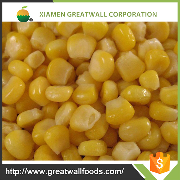High Quality Frozen Sweet Corn Kernels For Sale