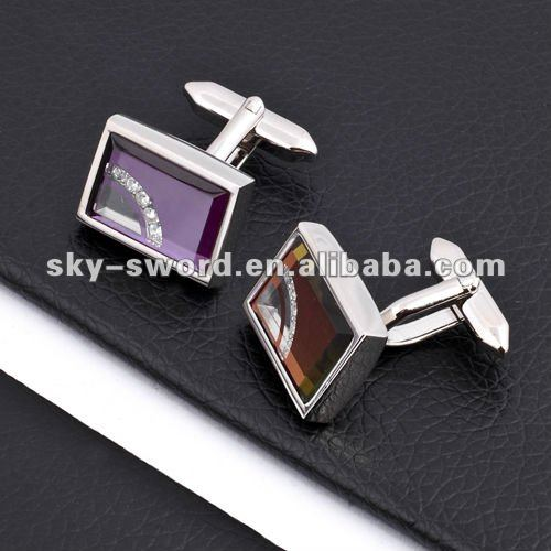 Newest promotional cuff-links in competitive price