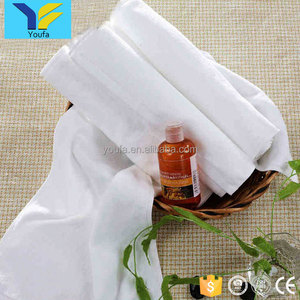 Hot sale woven plain white hotel terry towel 100% cotton face towels hand wash cloth