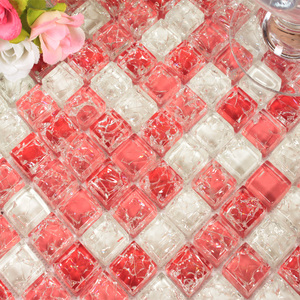 ice crack high grade crystal swimming pool tile mosaic