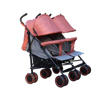 Easy folding baby twins stroller baby twins carriagers for girls