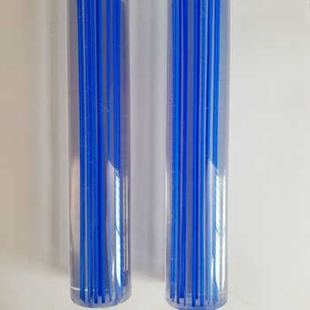 acrylic rod with colourful line pillar balustrade