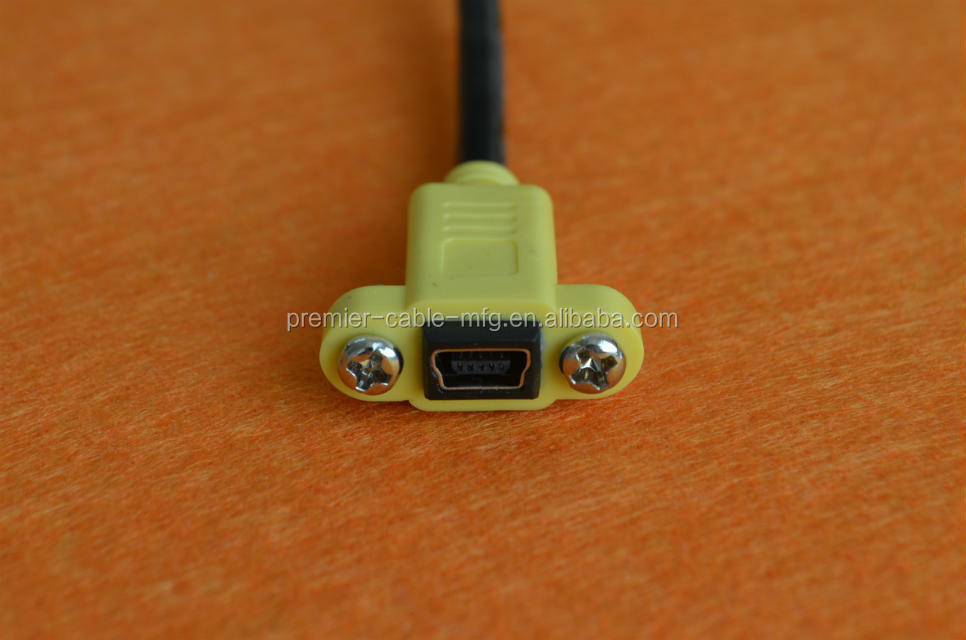 Panel Mount Micro Usb Cable Share The Same Tooling With Panel ...