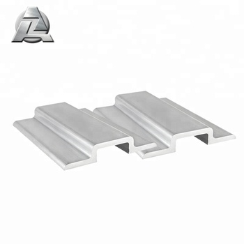 Silver Anodized Extruded Aluminum U Channel Trim With Flange - Buy U  Channel,Aluminum U Channel Trim,Aluminum U Channel With Flange Product on