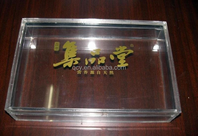 allibaba new hot sale fancy clear acrylic storage box for 2015