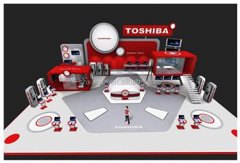 Custom Exhibition Stand Price : 100% warranty lowest price popular custom made showroom display